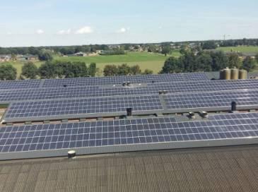 Zonnepanelen met Solaredge omvormer in Bergeijk