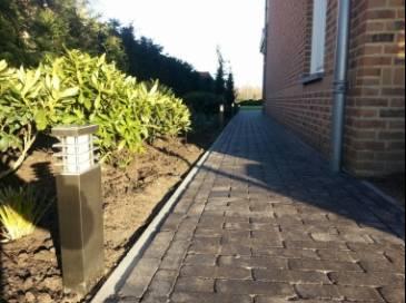 Aanleg tuinverlichting en overdekt terras voorzien van Sonos i.c.m. Bose speakers